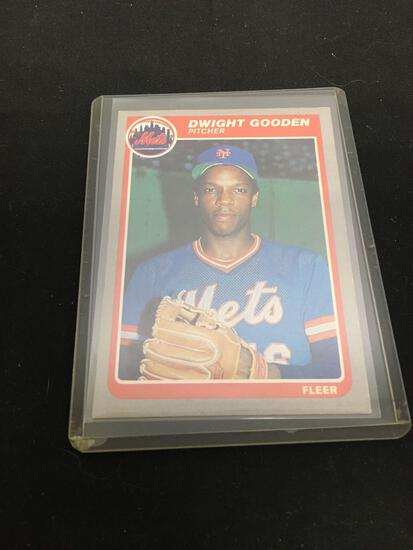 1985 Fleer #82 DWIGHT GOODEN Mets ROOKIE Baseball Card