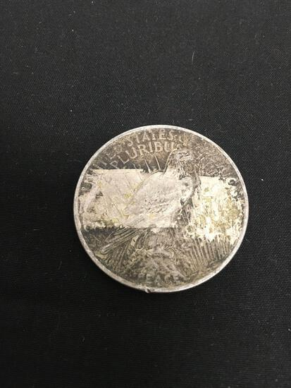 1922-P United States Peace Silver Dollar - 90% Silver Coin