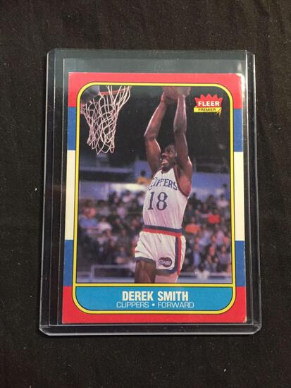 1986-87 Fleer #103 DEREK SMITH Clippers Vintage Basketball Card