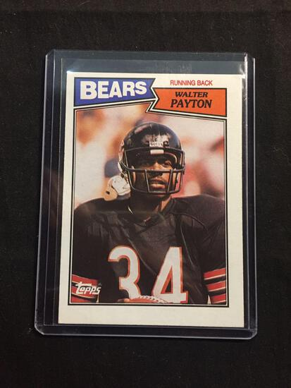 1987 Topps #46 WALTER PAYTON Bears Vintage Football Card