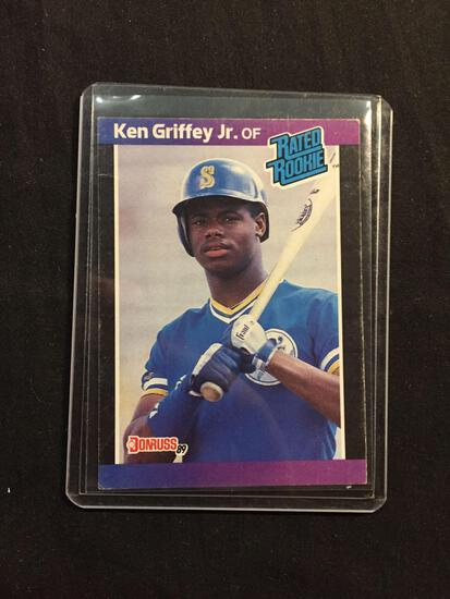 1989 Donruss #33 KEN GRIFFEY JR. Mariners ROOKIE Baseball Card