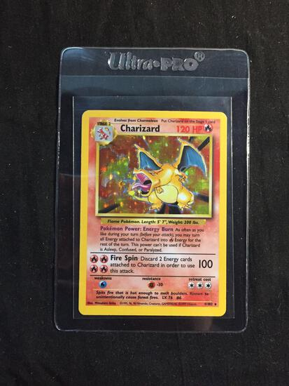 ICONIC Base Set Unlimited Holo Rare CHARIZARD 4/102 Pokemon Card