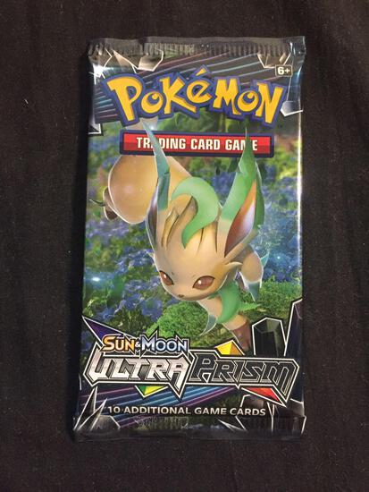 HOT PRODUCT - Factory Sealed Ultra Prism Sun & Moon 10 Pokemon Card Booster Pack