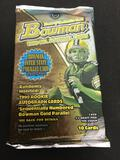 Factory Sealed Hobby Edition 1999 Bowman Football 10 Card Pack from Box Break