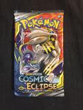 Factory Sealed Booster Pack of Sun & Moon Cosmic Eclipse - 10 Pokemon Cards