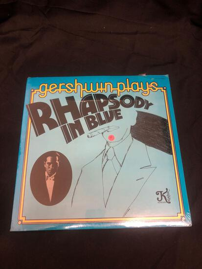 Rhapsody in Blue Gershwin Plays Sealed Vintage Vinyl LP Record from Collection