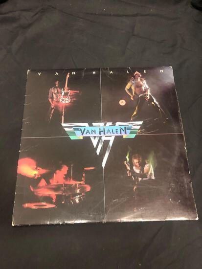 Van Halen Self Titled Vintage Vinyl LP Record from Collection