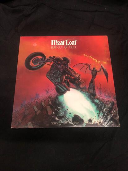 Meat Loaf Bat out of Hell Vintage Vinyl LP Record from Collection