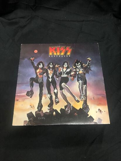 Kiss Destroyer Vintage Vinyl LP Record from Collection