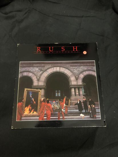 Rush Moving Pictures Vintage Vinyl LP Record from Collection