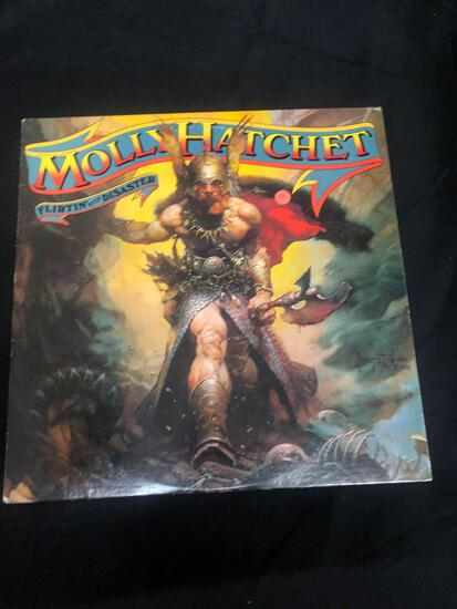 Molly Hatchet Flirtin' with Disaster Vintage Vinyl LP Record from Collection
