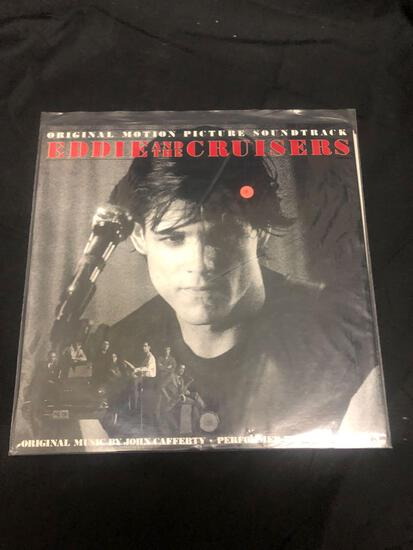 Eddie and the Cruisers Original Motion Picture Soundtrack Vintage Vinyl LP Record from Collection