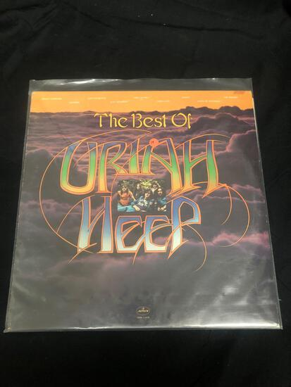 The Best of Uriah Heep Vintage Vinyl LP Record from Collection
