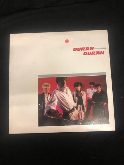 Duran Duran Harvest Vintage Vinyl LP Record from Collection