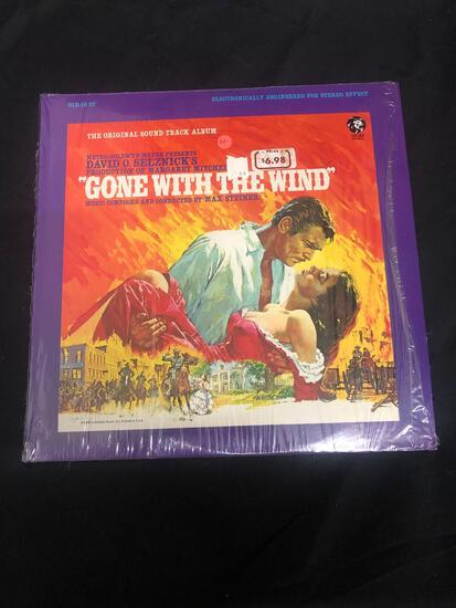 Gone with the Wind The Original Sound Track Album Vintage Vinyl LP Record from Collection