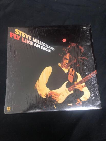 Steve Miller Band Fly Like An Eagle Vintage Vinyl LP Record from Collection