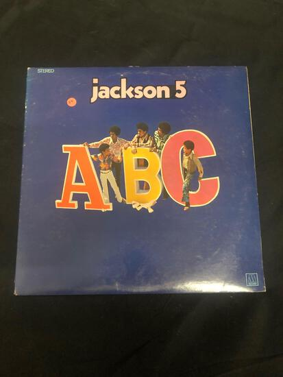 Jackson 5 ABC Vintage Vinyl LP Record from Collection