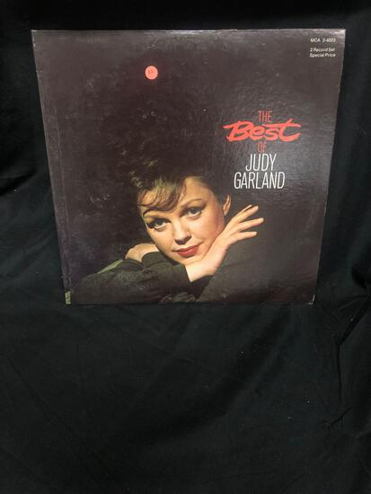 The Best of Judy Garland Double Vintage Vinyl LP Record from Collection