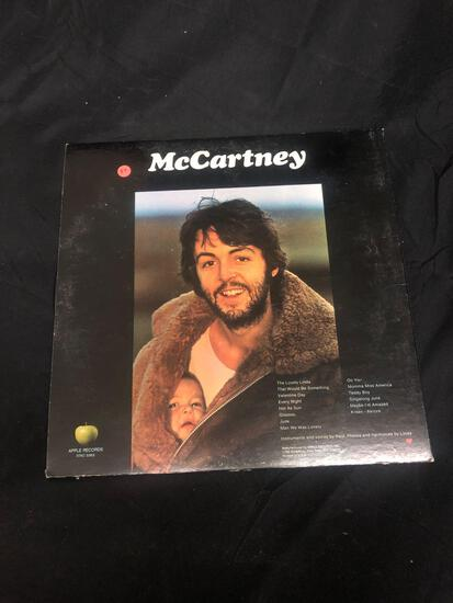 Paul McCartney McCartney Vintage Vinyl LP Record from Collection
