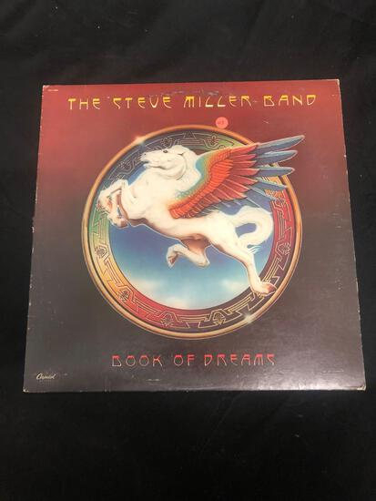 The Steve Miller Band Book of Dreams Vintage Vinyl LP Record from Collection