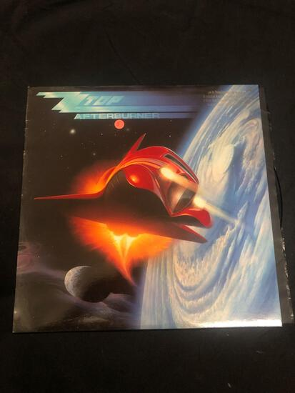 ZZ Top Afterburner Vintage Vinyl LP Record from Collection