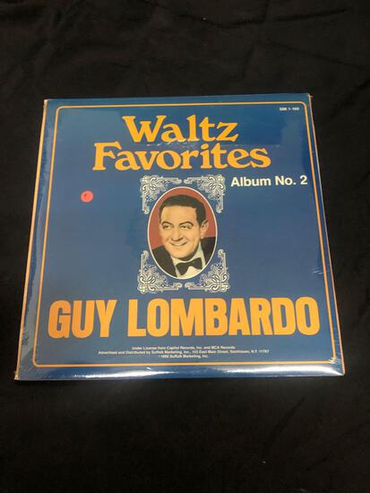 Guy Lombardo Waltz Favorites Album No. 2 Sealed Vintage Vinyl LP Record from Collection