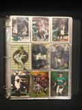 Binder of Mixed Sports Cards