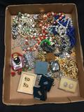 Large Collection of Jewelry Necklaces, Rings, Earrings, Watches, ETC