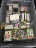 Huge Lot of Mixed Sports Cards, Tons in Hard Cases, Rare