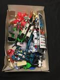 Cool Vintage Box of Japanese Action Figure Parts