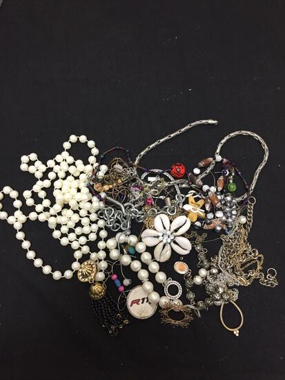 Lot of Miscellaneous Jewelry Parts & Pieces