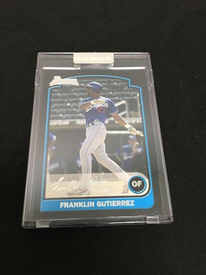 2003 Bowman Silver FRANKLIN GUTIERREZ Dodgers Rookie UNCIRCULATED Baseball Card /250