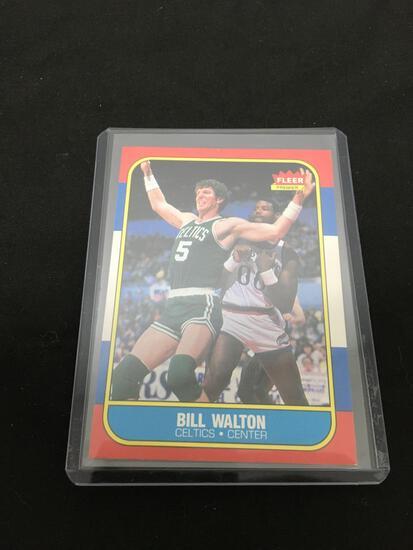 1986-87 Fleer #119 BILL WALTON Celtics Vintage Basketball Card