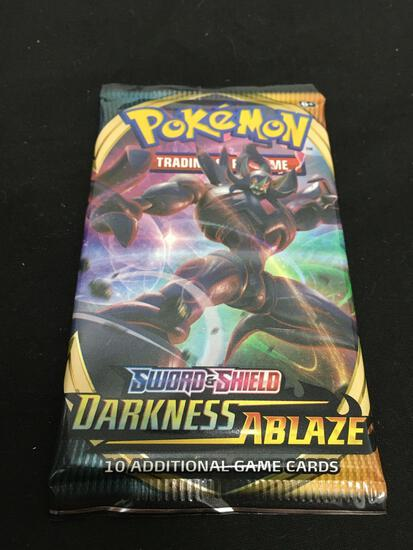 HOT PRODUCT - Booster Pack of Pokemon Darkness Ablaze Cards - 10 Trading Cards