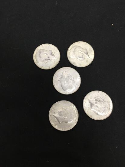 Random Date 1965-69 Kennedy 40% Silver Half Dollar (TIMES THE MONEY)