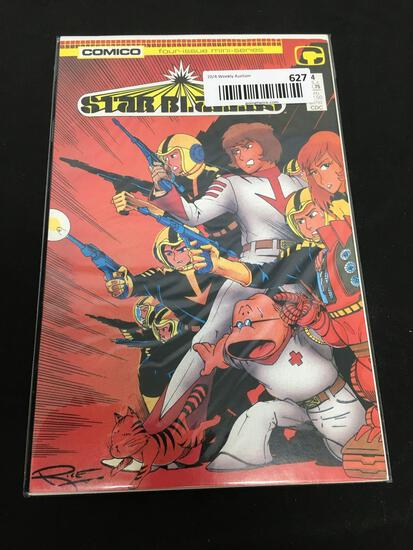 Comico STAR BLAZERS Four-Issue Mini-Series #4 Comic Book
