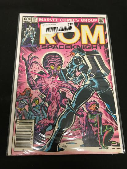 Vintage Marvel Comics Group ROM SPACEKNIGHT JULY 32 COMIC BOOK