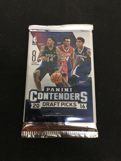 Sealed Panini Contenders Draft Picks Basketball 8 Card Pack from Hobby Box