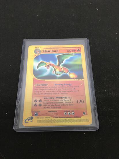 Vintage Pokemon Expedition CHARIZARD Rare Card 40/165