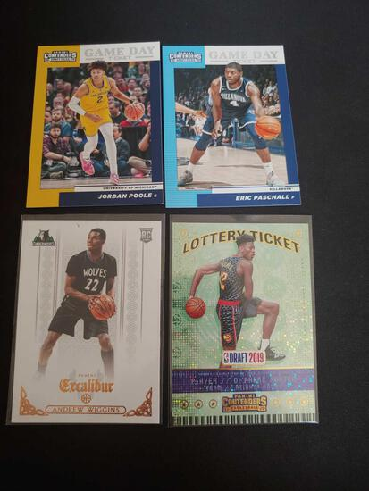 Basketball Rc lot of 4