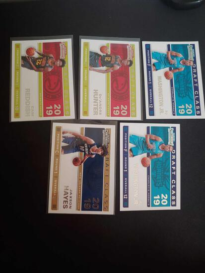 Basketball Rc lot of 5
