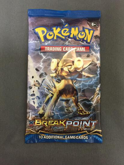 Pokemon Factory Sealed Break Point 10 Card Booster Pack