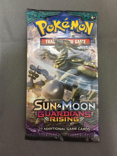 Sealed Pokemon Sun & Moon Guardians Rising 10 Card Booster Pack
