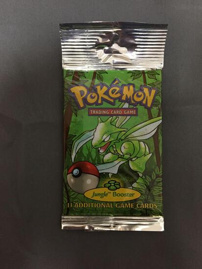 Factory Sealed Pokemon Jungle Unlimited 11 Card Booster Pack - 21.46 Grams