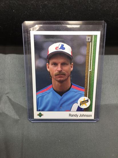 1989 Upper Deck #25 RANDY JOHNSON Mariners ROOKIE Baseball Card