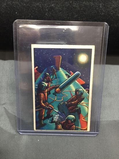 1951 Bowman JETS ROCKETS SPACEMEN #9 Vintage Trading Card from Estate - WOW