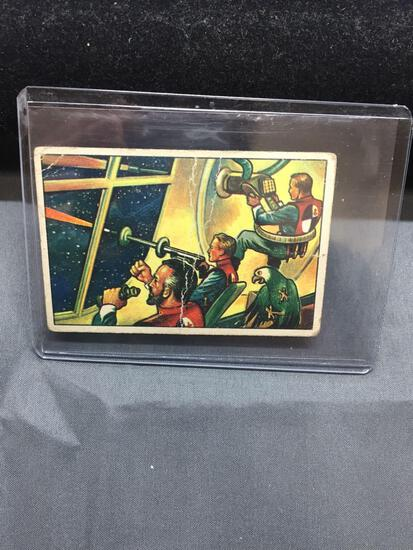 1951 Bowman JETS ROCKETS SPACEMEN #32 Vintage Trading Card from Estate - WOW