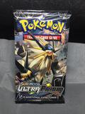 Pokemon Factory Sealed Sun & Moon Ultra Prism 10 Card Booster Pack