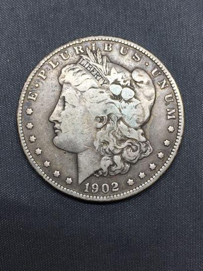 1902-O United States Morgan Silver Dollar - 90% Silver Coin