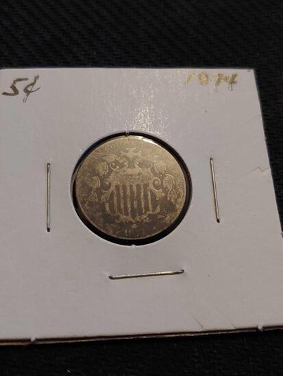 1874 nickel
